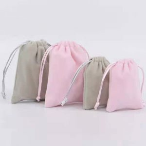 cosmetic bags with drawstring