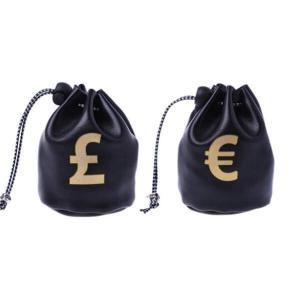 small faux leather drawstring bags coin purse