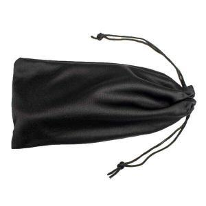 soft fabric microfiber pouch with drawstring