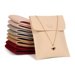 Double Imitation Velour Envelope Pouches for Jewellery