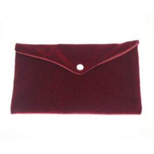 Jewellery Storage Envelope Pouches with Button