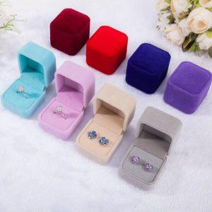 velvet ring box wholesale