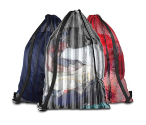 Mesh Laundry Bags with Adjustable Shoulder Strap