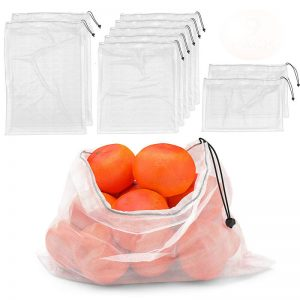 Ecology Fruit organic cotton mesh net bags