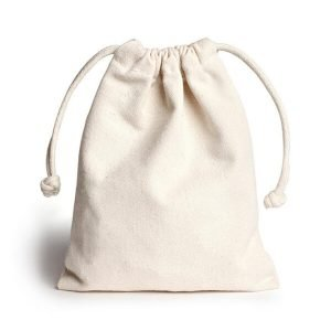 canvas drawstring gift bags Jewellery Storage