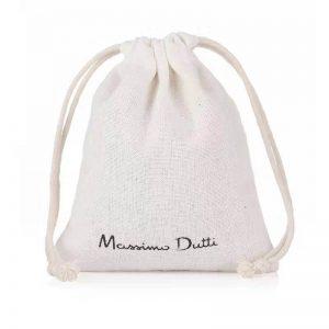 8 oz white cotton drawstring pouch bag
