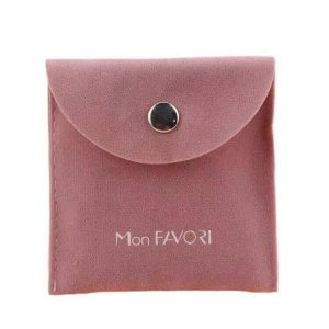 Double Imitation Velour Envelope Pouches
