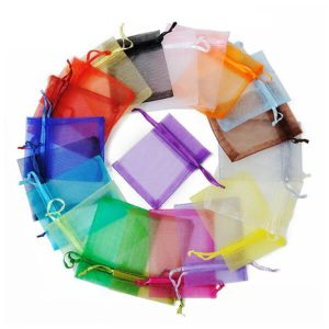 How to use organza bags