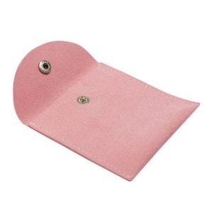 pink imitation velour envelope pouches